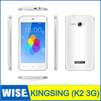 Original 4.3Inch KingSing K2 MTK6572 Dual Core 1.3GHz Capacitive Screen 512MB+4GB dual sim GSM 3G GPSAndroid 4.2 OS smartphone