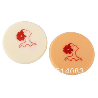 Cosmetic Puff low price Pro Beauty Makeup Dry skin color wet amphibious soft smooth round sponge cosmetic powder puff