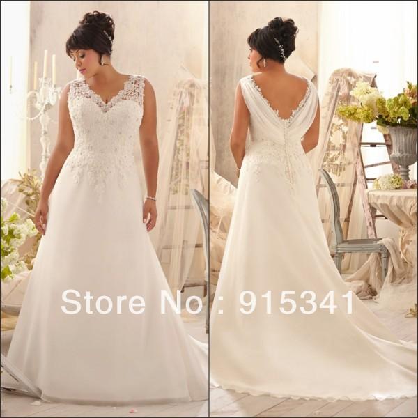 Popular super plus size wedding dresses aliexpress for Super plus size wedding dresses