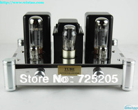 HIFI Single-ended Pure Class A Tube Amplifier 6N2J Preamp  EL34 Power Amp 5Z4PJ Rectifier Mirror Stainless Steel Chassis Silver