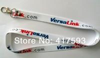 Free shipping Custom heat transfer lanyard,logo sublimated on both side polyester heat transferred print lanyards neck lanyards,