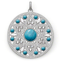 2014 New ! Wholesale Free shipping 925 sterling silver jewelry ,925 silver pendant / disk pendant necklace charm TS1218