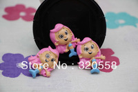 Wholesale lovely Bubble Guppies Molly  FlatBack Resins Scrapbooking Embellishment 50pcs  Free Shipping