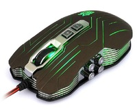 Wholesales 10piece/lot 9D mouse 2400DPI Optical wired Gaming mouse for Dota Free shipping