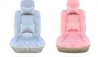 2014 New Fashion Luxury Bright Stars Warm Plush Car Seat Covers Universal Full Set For Winter Hot Sale