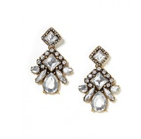 SGE001 /Sweet Girl/ Free shipping /Factory supply / crystal drop earrings