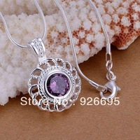 JP216 lowest price wholesale fashion jewelry chain necklace 925 sterling silver Pendant Zishi rotating Pendant /bogakfnasw
