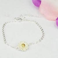 Sakura's Store B3264 asmama small fresh brief daisied flower bracelet