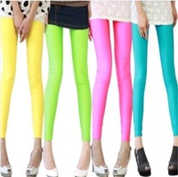 новые моды k208 весна осень для женщин брюки цветок печатных пят эластичные тонкие брюки розничной