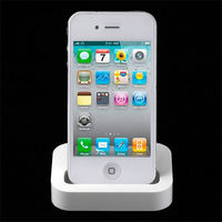 New Desktop Charger Cradle Dock adapter for IPHONE 4 4G/4S Dock Cradle Charger Station free shipping