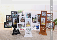 American Family Frame Tree photo Frame  Childen wood picture Frame Happy Tree Frames  3x3 inch and 3x4.5 inch