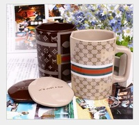 Free shipping,Modelling of handbags Creative ceramic coffee mark mugs.