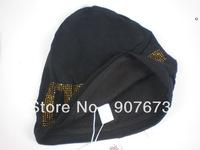 Free shipping Winter SKI Sports Stretch Knit Beanie mwool/cotton Hat Cap DG5Y