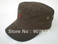 Free shipping New Military Flat Hat Cap Classic Men/Women Flat Adjustable V1F