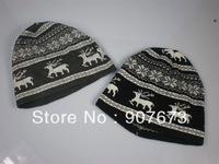 Free shipping Winter SKI Sports Stretch Knit Beanie mercerized cotton Hat Cap DG4