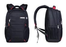 Itemship 18 inch backpack shoulder bag female Korean male high school students bag man computer bag shoulder (Black)