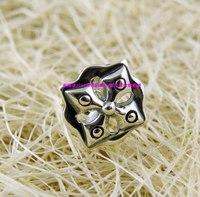 925 pure silver cross thai silver stud earring