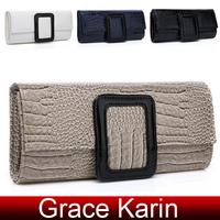 Free Shipping GK Women's Snake Pattern Hard-shell design Clutch Evening Bag Shoulder Bags Handbag GZ638