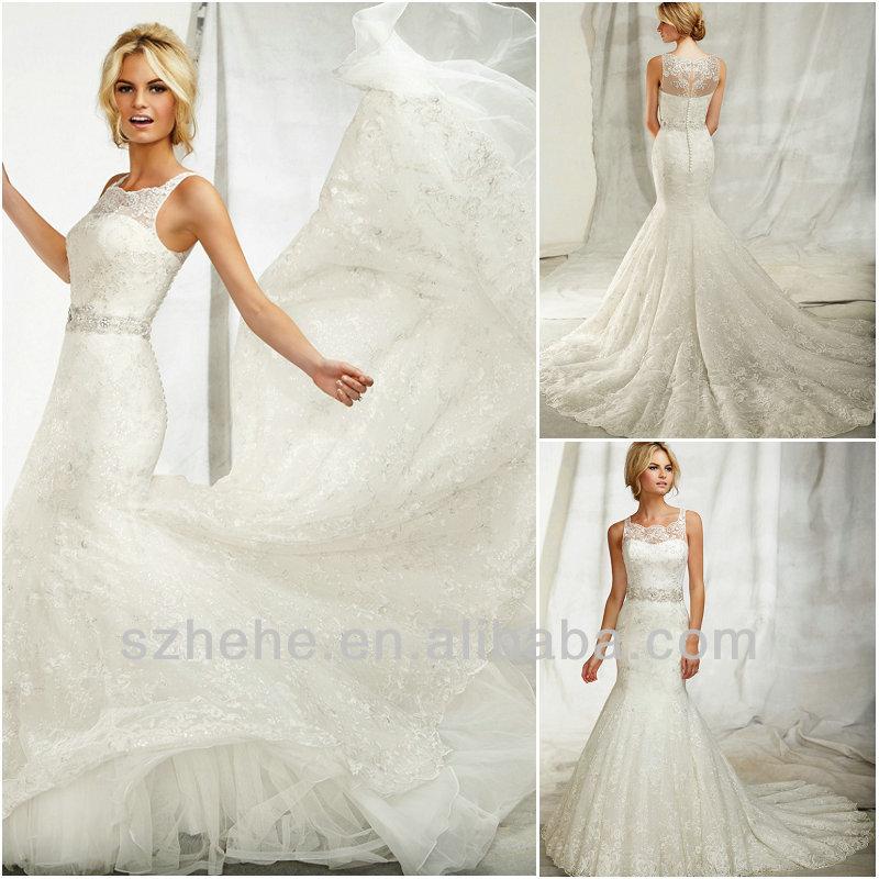 Spanish style wedding dress