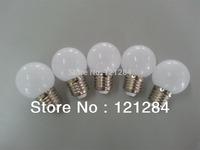 Free shipping G45 bulb led globe bulbs 0.6W power E27/B22 fitting 220V, 230V 240V with power supply