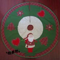 Christmas tree skirt mantissas girth mats sofa cushion Christmas decoration supplies
