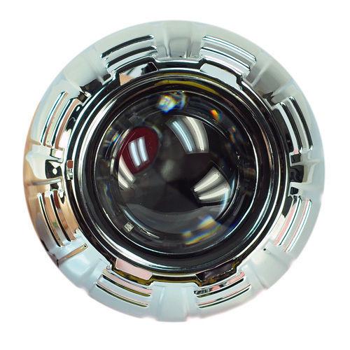 "New 2 8"" HID Bixenon Projector Lens Len for D2S Bulb Car Motor Gift Shround(China (Mainland))"