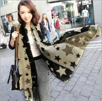 2014 New Fashion winter women ice silk Scarf  warm Tassel Scarf Wrap Shawl scarves Lovers  ~gh122005