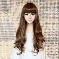 Free Shipping sale Fashion Han edition curly hair wig caps  heat-high quality 803