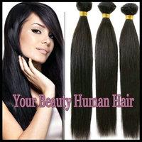 Grade AAAAA Brazilian virgin hair extension,Unprocessed straight hair Queen hair products,4pcs/lot, human hair weave,