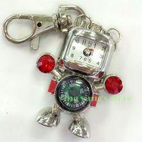 HOT Robot clock key chains USB 2.0 Enough Memory Stick Flash pen Drive 4G-32G