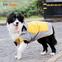 Burberry pet dog raincoat large dog raincoat poncho free shipping