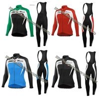 4 colour maillot! 2013 castelli Cycling Jersey Long Sleeve and bicicletas bib Pants clothing set/ ciclismo outdoor fun & sports!