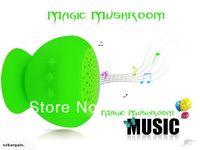 Free Shipping New bluetooth speaker Waterproof Magic Mushroom Green