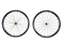 U Shape 25mm Wide Carbon Wheels 38mm Tubular Road Bicycle Wheels 700C + Ceramic Hubs + Sapim Cx- Ray Spokes + Straight Pull Hubs