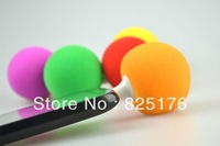 Mini speaker Super Audio Dock Music Sponge Ball Speaker 3.5MM Audio Jack mp3 sound box for iPhon 5 4 3G ipod itouch mobile phone