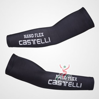 NANO FLEX CASTELLI team black Cycle Arm Sleeve Warmers Cycling UV Protection Cycle Bicycle Bike Sport