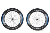 Ceramic Bearing + Sapim Spokes + Straight Pull Hubs U Shape 25mm Wide 700C 88mm Carbon Wheels Tubular Road Bike Bicycle Wheelset