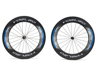 Ceramic Bearing + Sapim Spokes + Straight Pull Hubs U Shape 25mm Wide 700C 88mm Carbon Wheels Tubular Road Bike Bicycle Wheelset