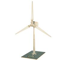 Diy toy wind generator handmade assembling model