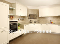 Kitchen cabinet with appliances cabinets, range hood, oven