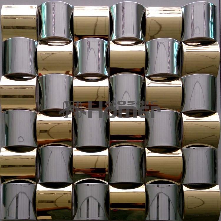 온라인 구매 도매 메탈 모자이크 벽 타일 중국에서 메탈 ...
