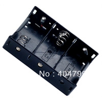 10pcs, 3 X D  3 D BATTERY HOLDER CASE CONNECTOR  FREE SHIPPING