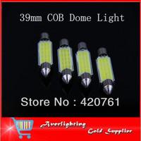 39mm High Quality Canbus LED Bulb COB Car Interior Festoon Light  Auto Dome Lamp