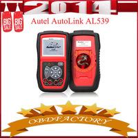 New 2014  Autel AutoLink AL539 OBDII/CAN SCAN TOOL Internet Update Multilingual Menu Tools Electric obd2 Auto Diagnostic Tool