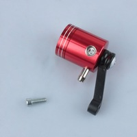 Motorcycle Fluid Oil Reservoir Cup Master Cylinder Red Front Brake Clutch Tank