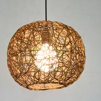 Coffee rattan lamp ball rattan lamp rattan pendant light child lamp md1003