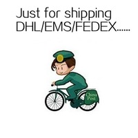 Just for extra shipping charge DHL/EMS/FEDEX and so on after pay will send to you fast