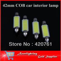 Factory Direct Sale 42mm High Quality Canbus LED Bulb COB Car Interior Festoon Light  Auto Dome Lamp Reading Light