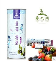 158g Free Shipping ! Blueberry flavor Fruit Tea!100% NATURAL Fructus and NATURAL flavors china Health tea