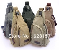 Casual male waist pack chest pack sports canvas man bag small bags multifunctional outdoor small messenger bag YB008